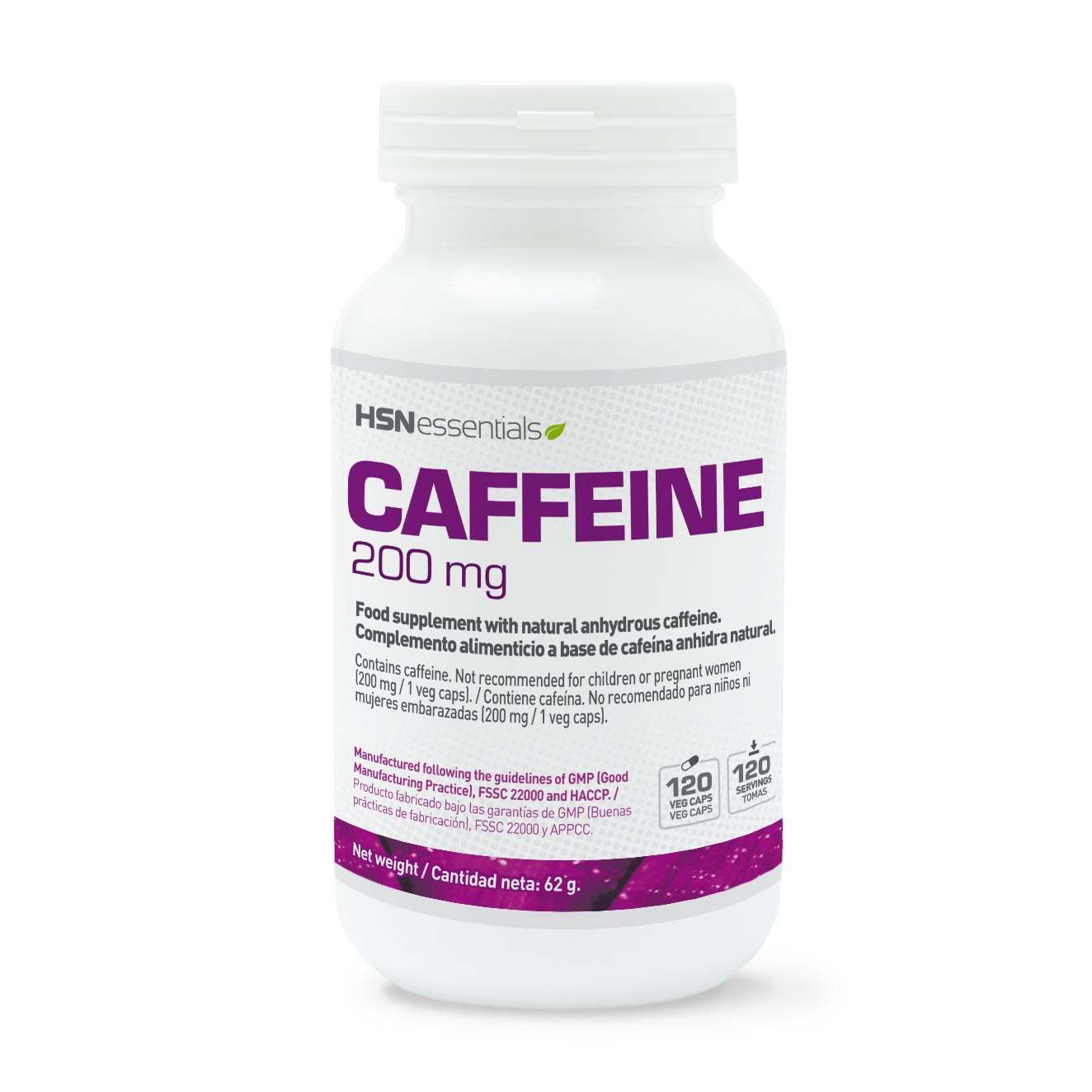 Cafeína Natural 200mg