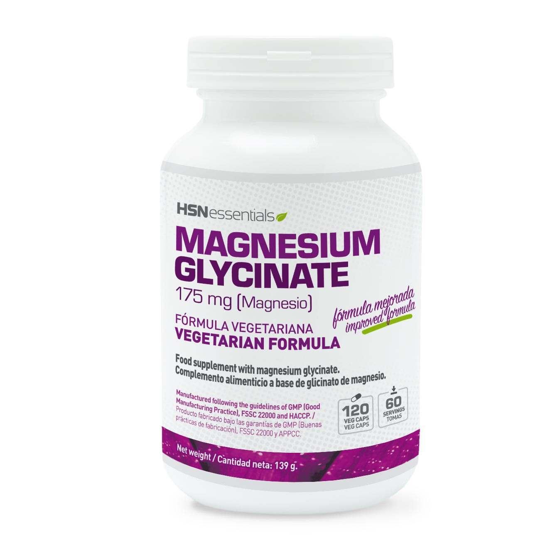 GLICINATO DE MAGNESIO 175mg - 120 veg caps