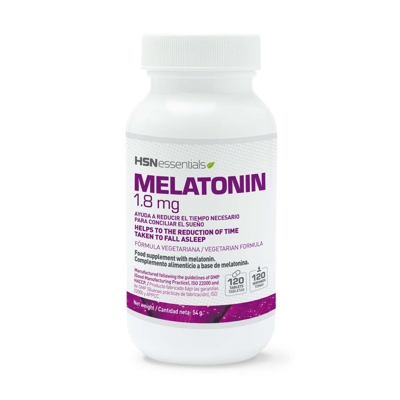 MELATONINA 1,8mg - 120 tabs