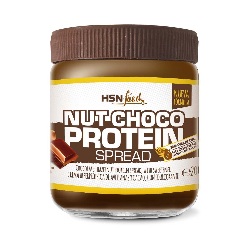 Crema Hiperproteica de Cacao y Avellanas Baja en Azúcar - 200g