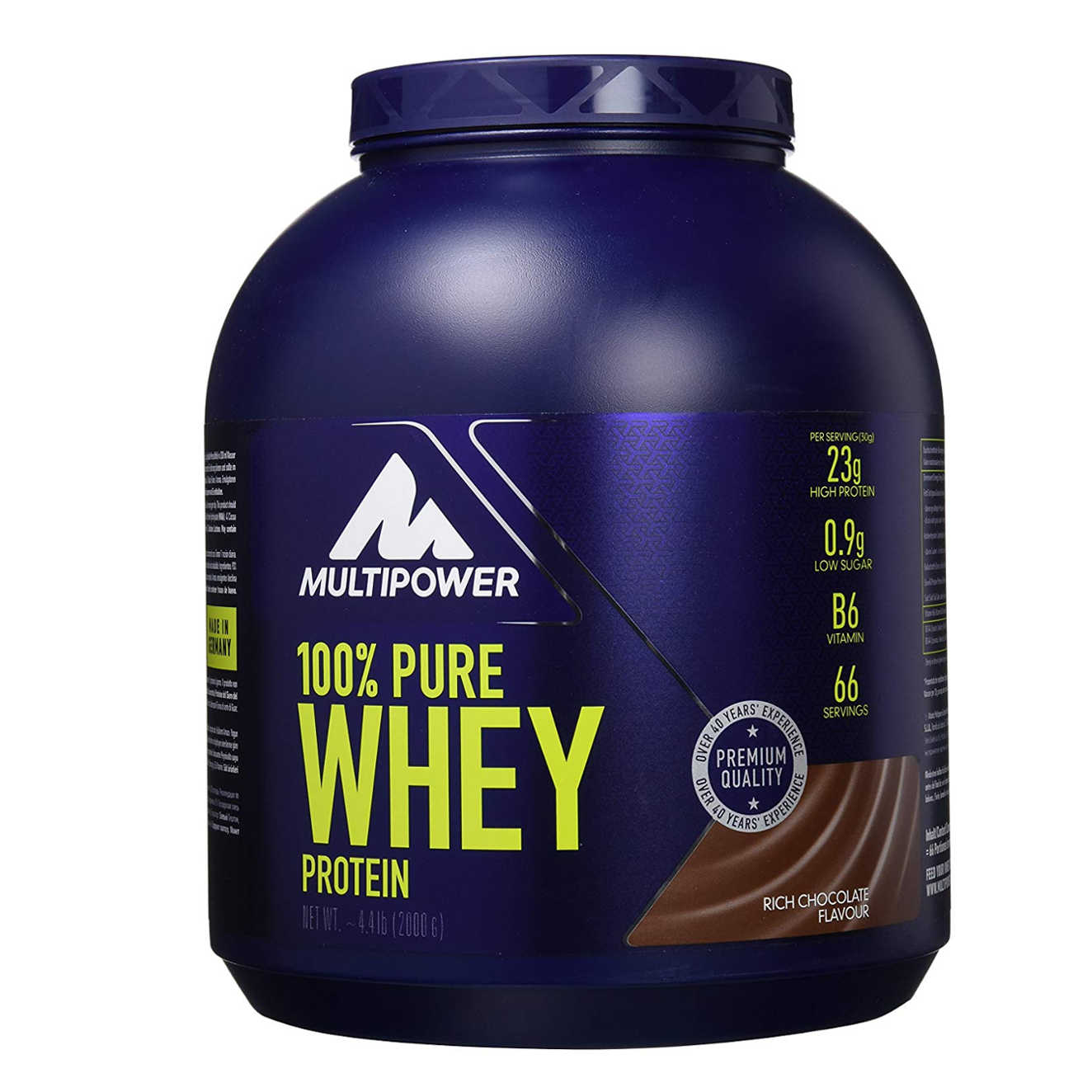 158b87b391665 100% PURE WHEY PROTEIN - 2Kg - Multipower