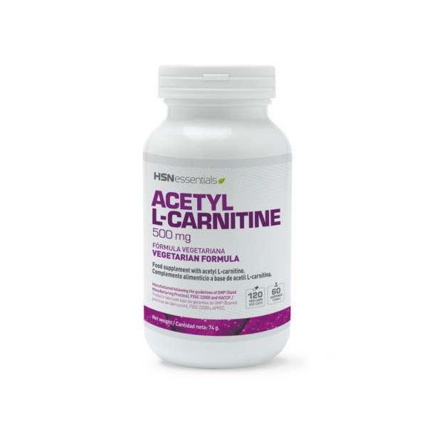 Acetil L-Carnitina 500mg - 120 veg caps