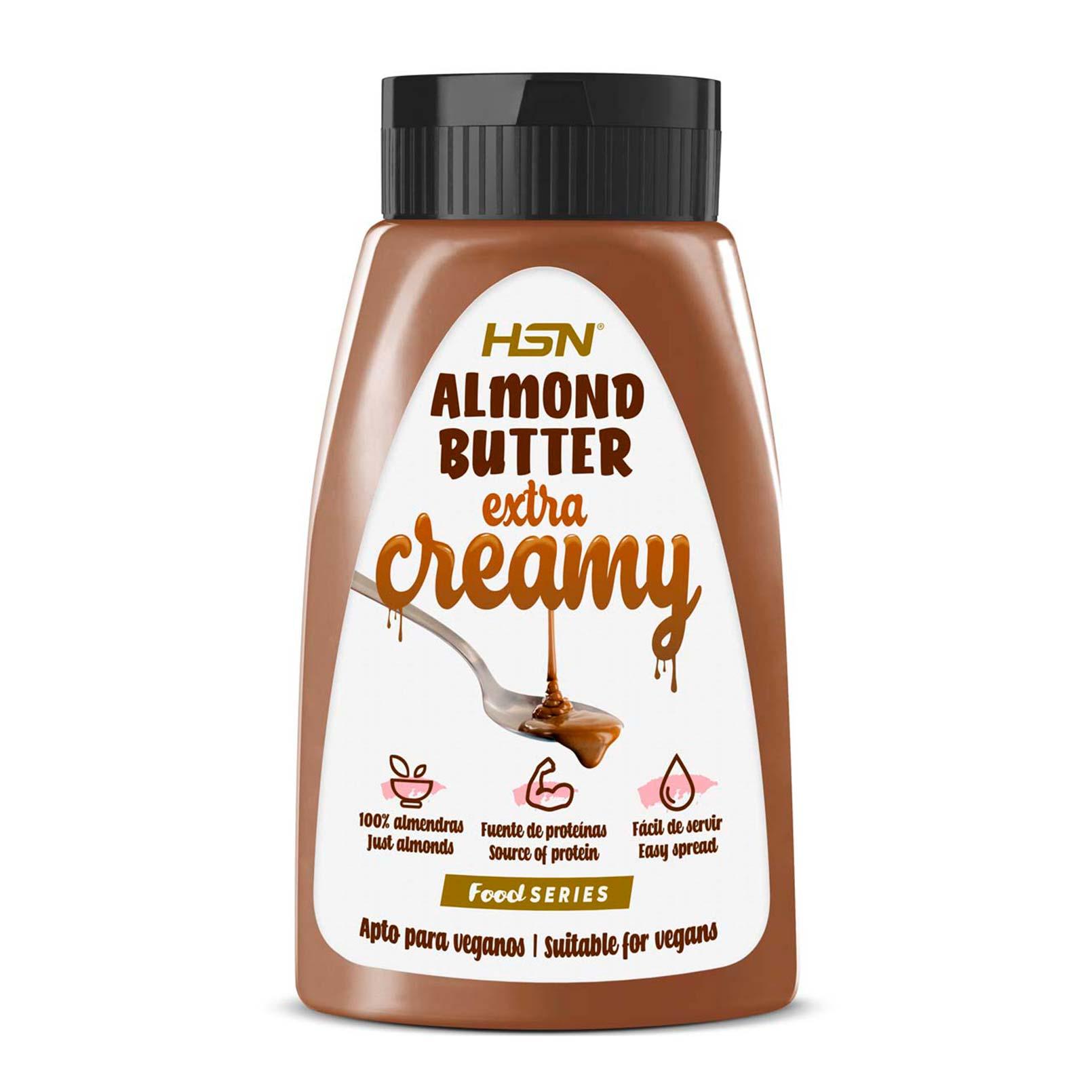 Mantequilla Extra Cremosa de Almendra 490g - Food Series