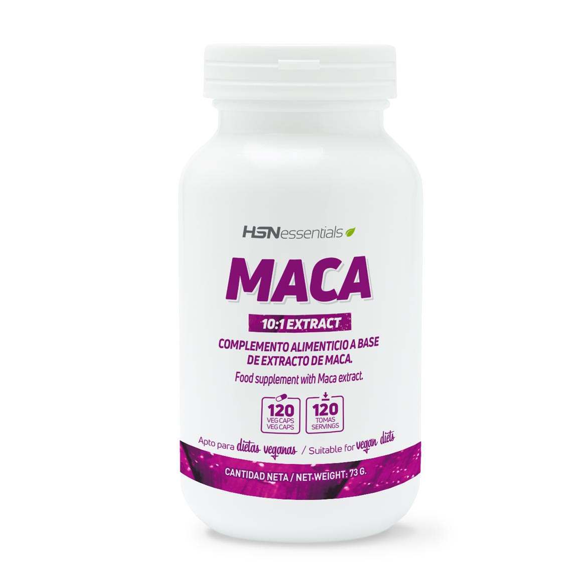 Maca 500mg HSN Essentials