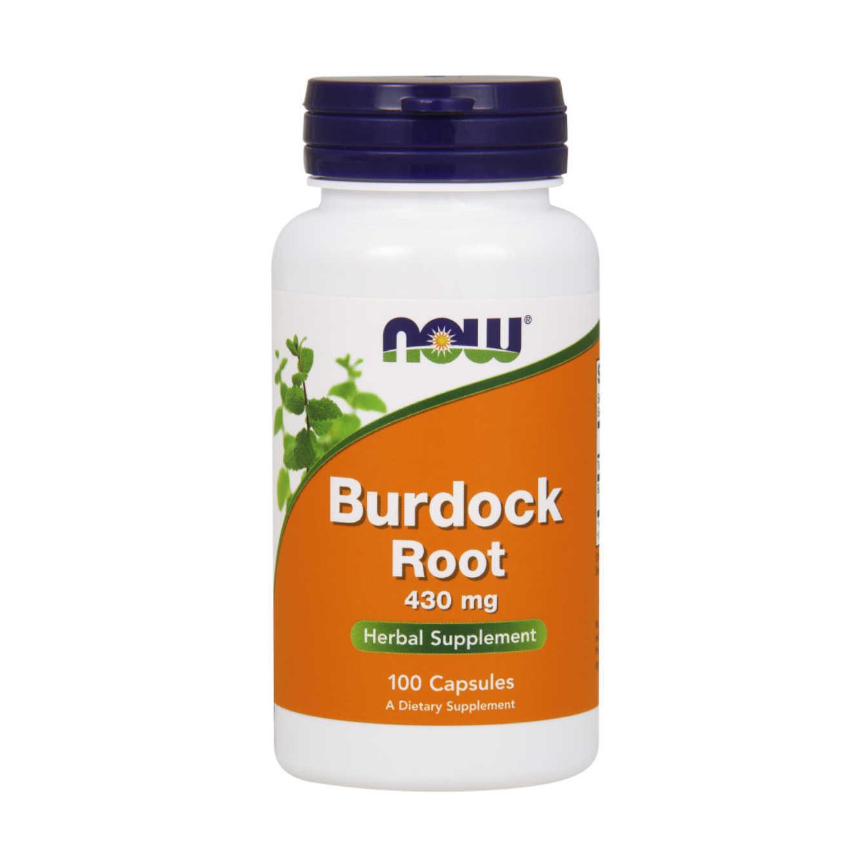 burdock root 430mg 100 caps now foods. Black Bedroom Furniture Sets. Home Design Ideas