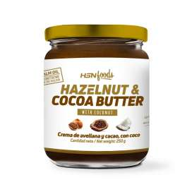 HAZELNUT AND COCOA SPREAD WITH COCONUT