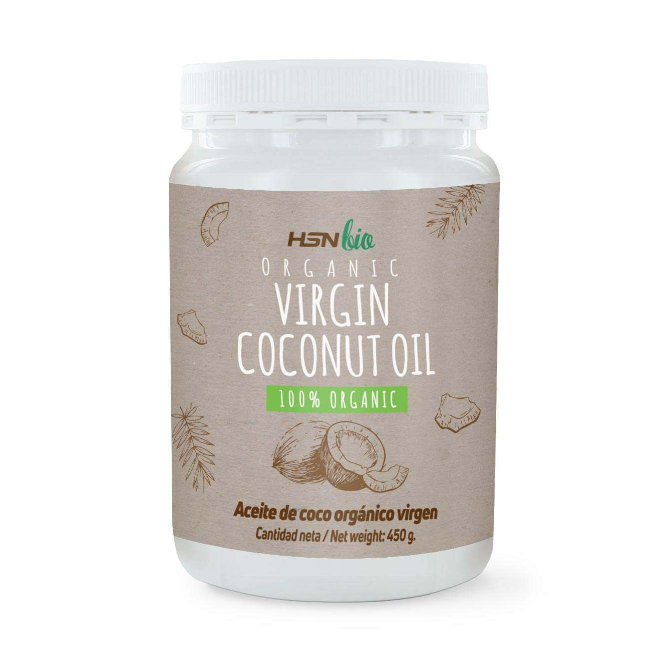 ORGANIC VIRGIN COCONUT OIL - 450g