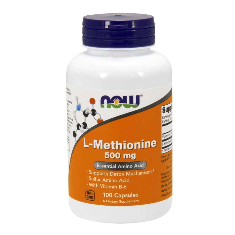 L-METHIONINE 500mg - 100 caps