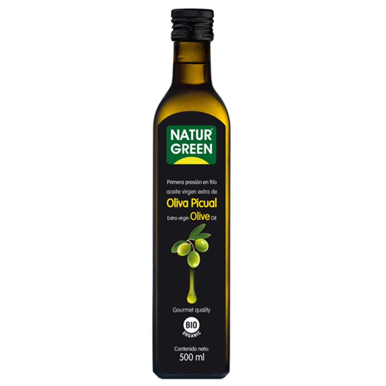 EXTRA VIRGIN PICUAL OLIVE OIL - 500ml