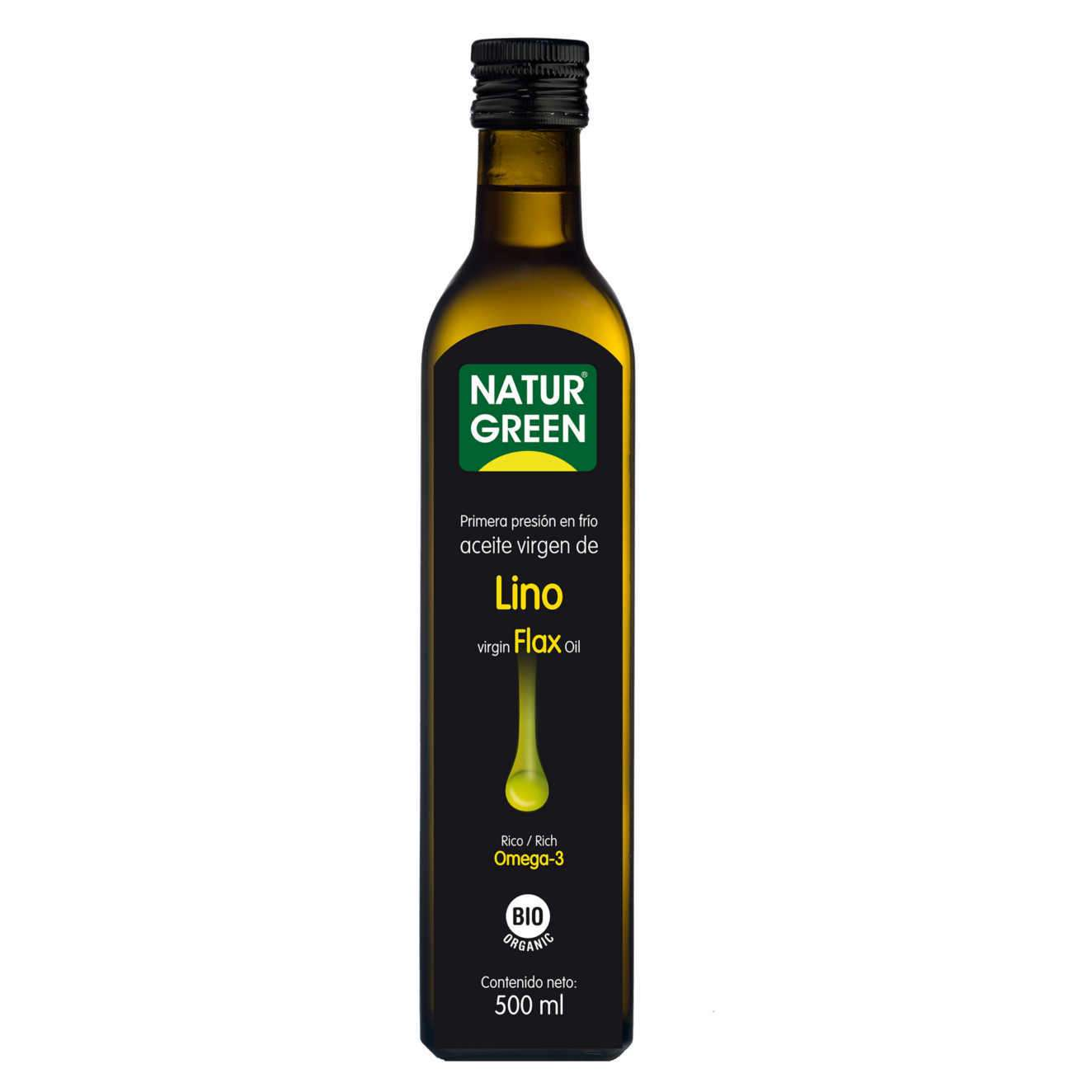 VIRGIN LINSEED OIL - 500ml