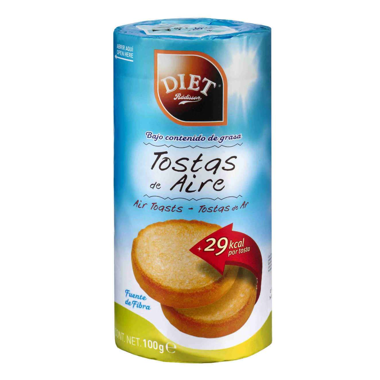 AIR TOASTS - 100g