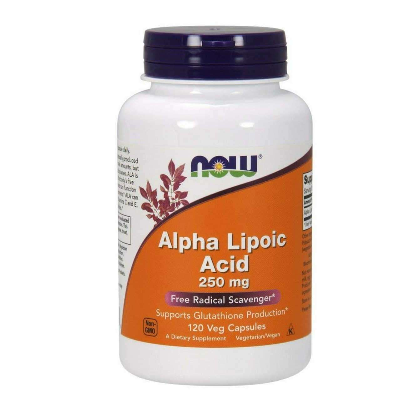 ALPHA LIPOIC ACID (ALA) 250mg - 120 veg caps