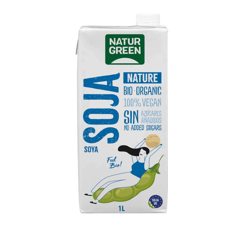 BIO SOY NATURE VEGETAL DRINK - 1L