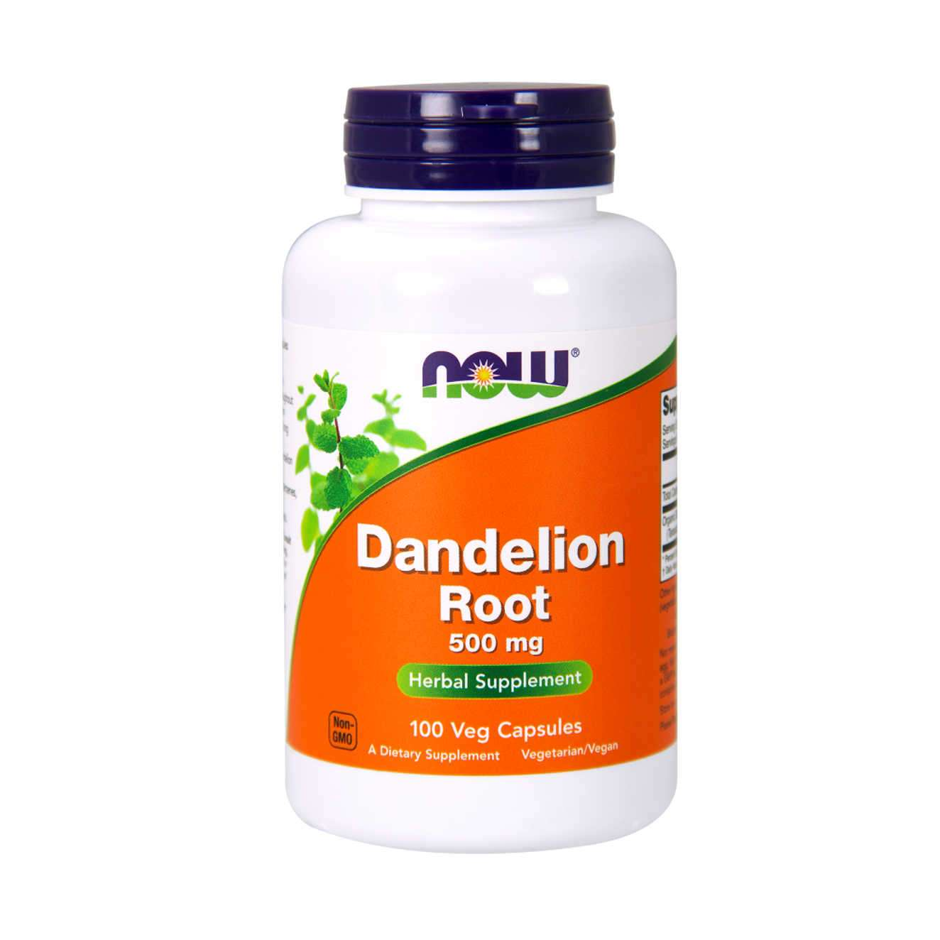 DANDELION ROOT 500mg - 100 caps