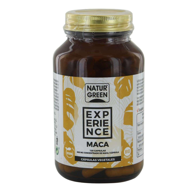 EXPERIENCE BIO MACA - 120 veg caps