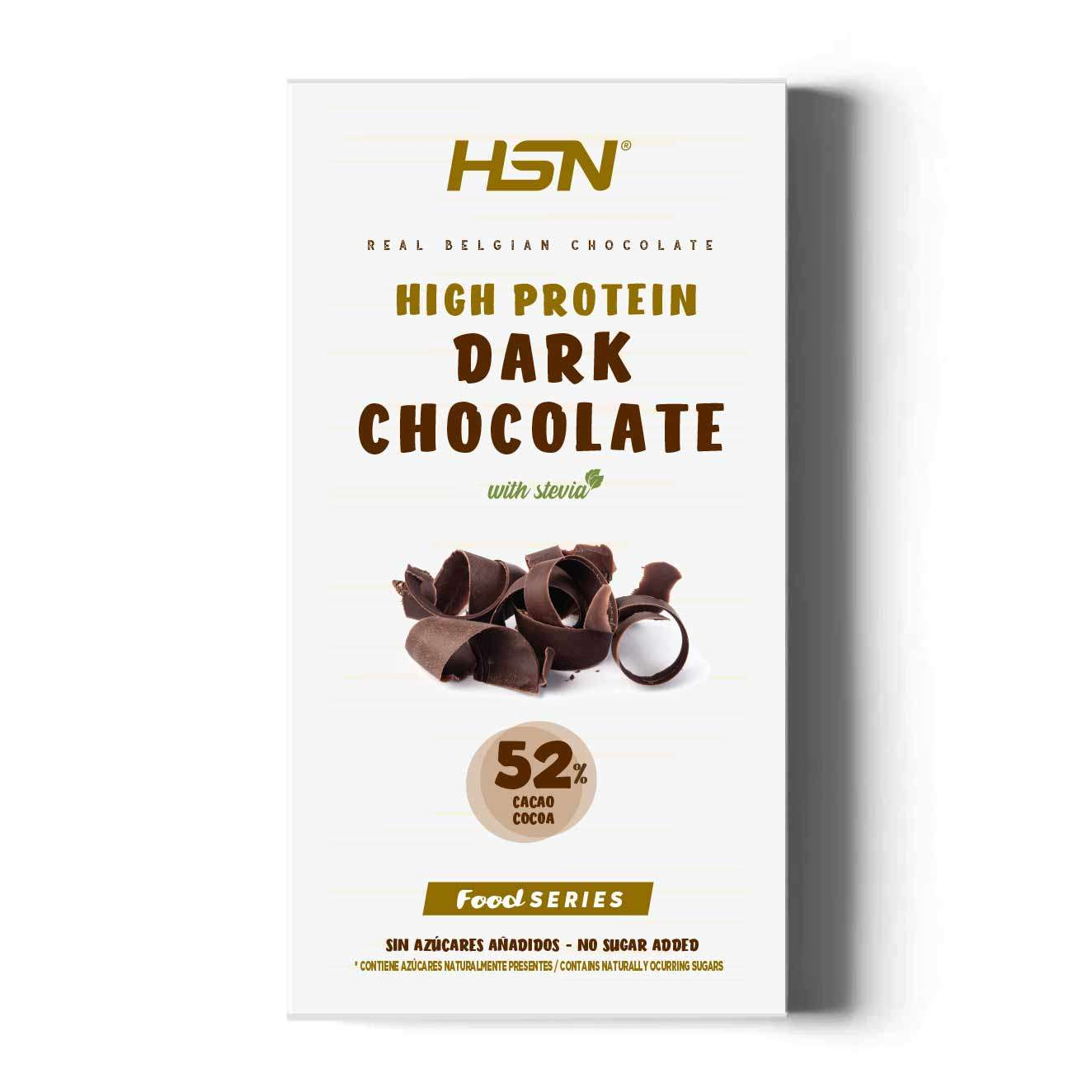 HIGH PROTEIN DARK CHOCO WITH STEVIA (SUGAR FREE) - 100g