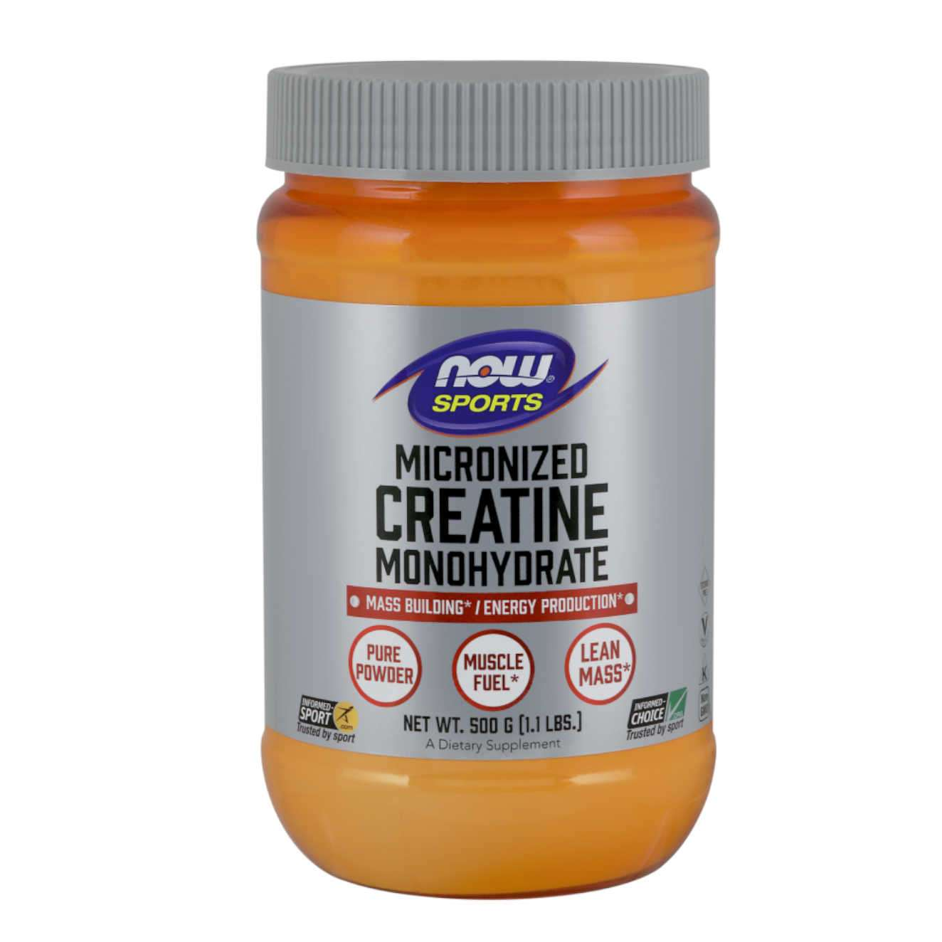 MICRONIZED CREATINE MONOHYDRATE 500g PURE
