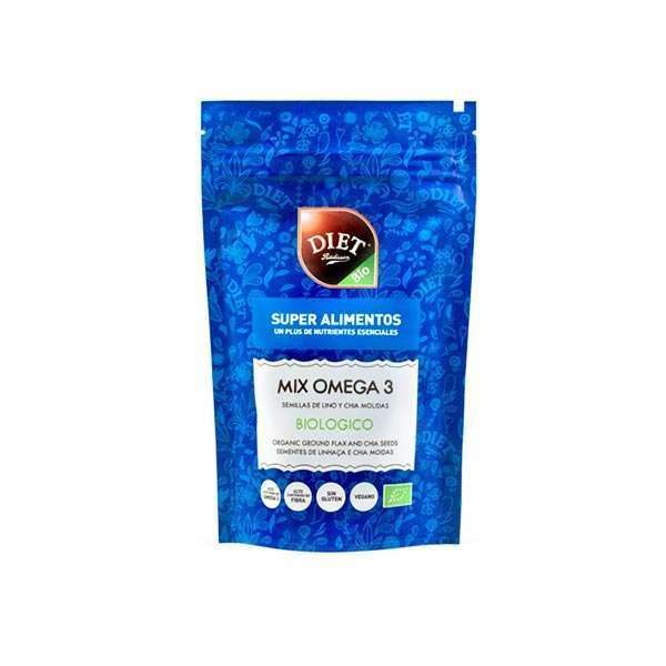 ORGANIC GROUND FLAX AND CHIA SEEDS 150g