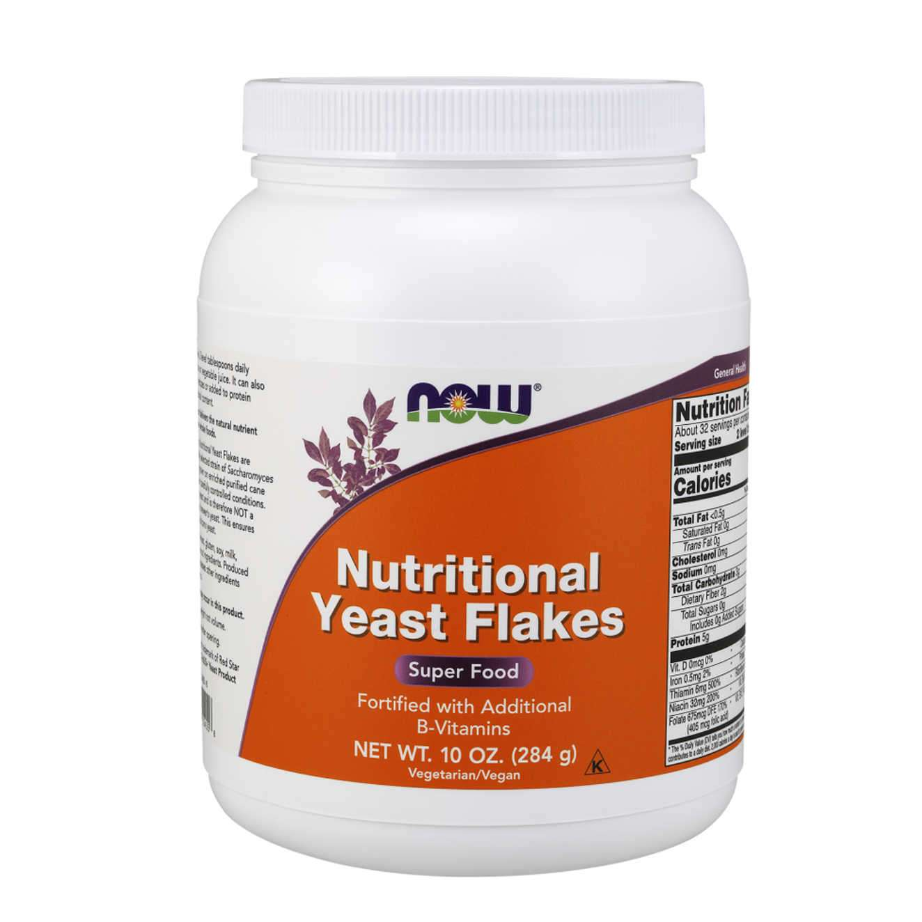 NUTRITIONAL YEAST FLAKES - 284g