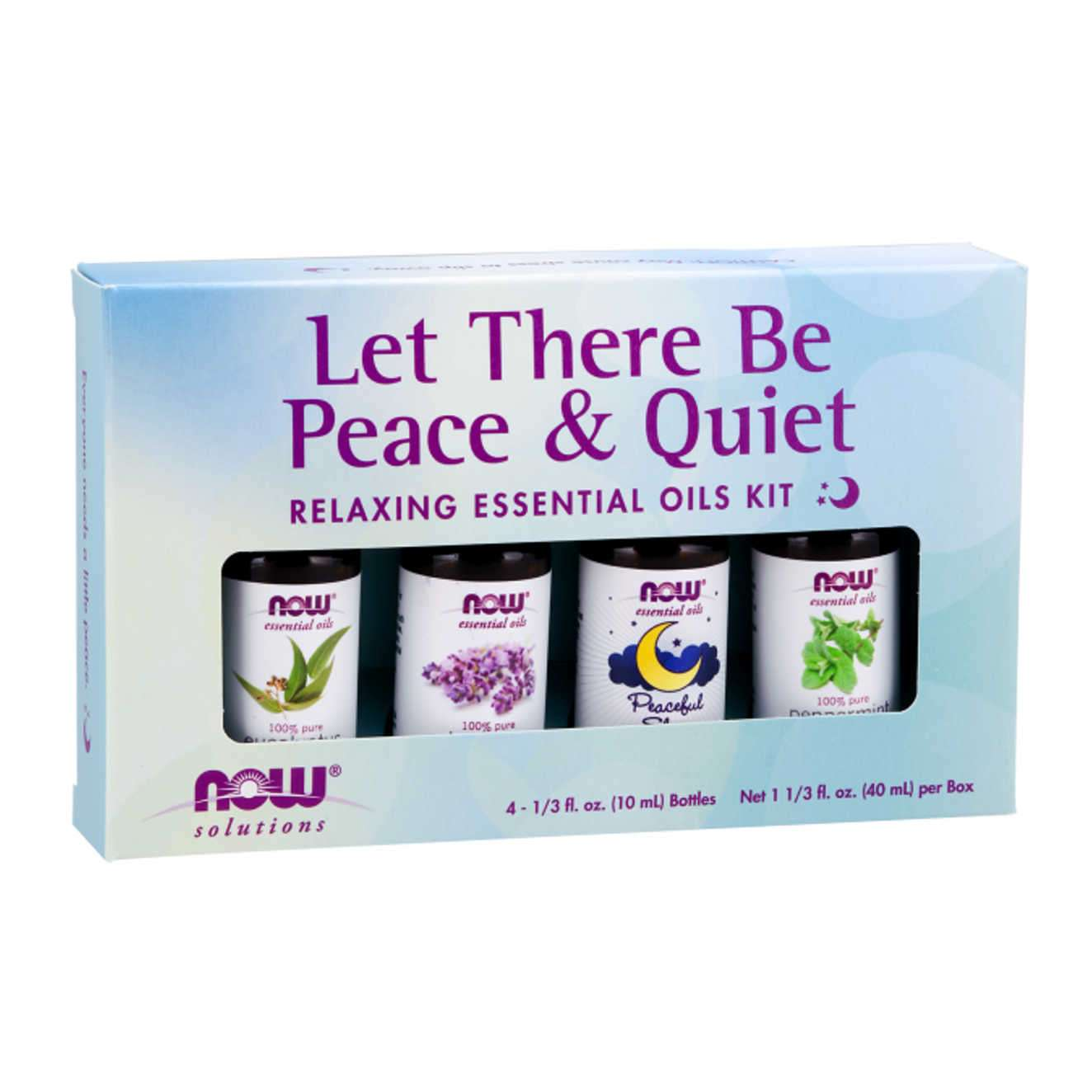 RELAXING ESSENTIAL OILS KIT - 4 X10ml