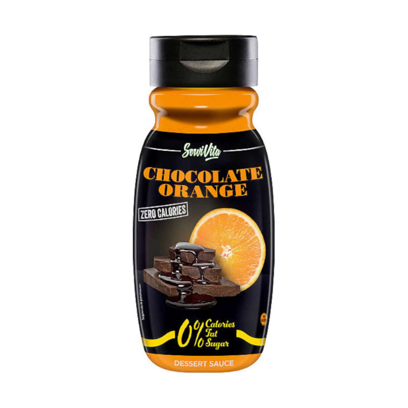 SERVIVITA ZERO CALORIE CHOCOLATE ORANGE SYRUP - 320ml