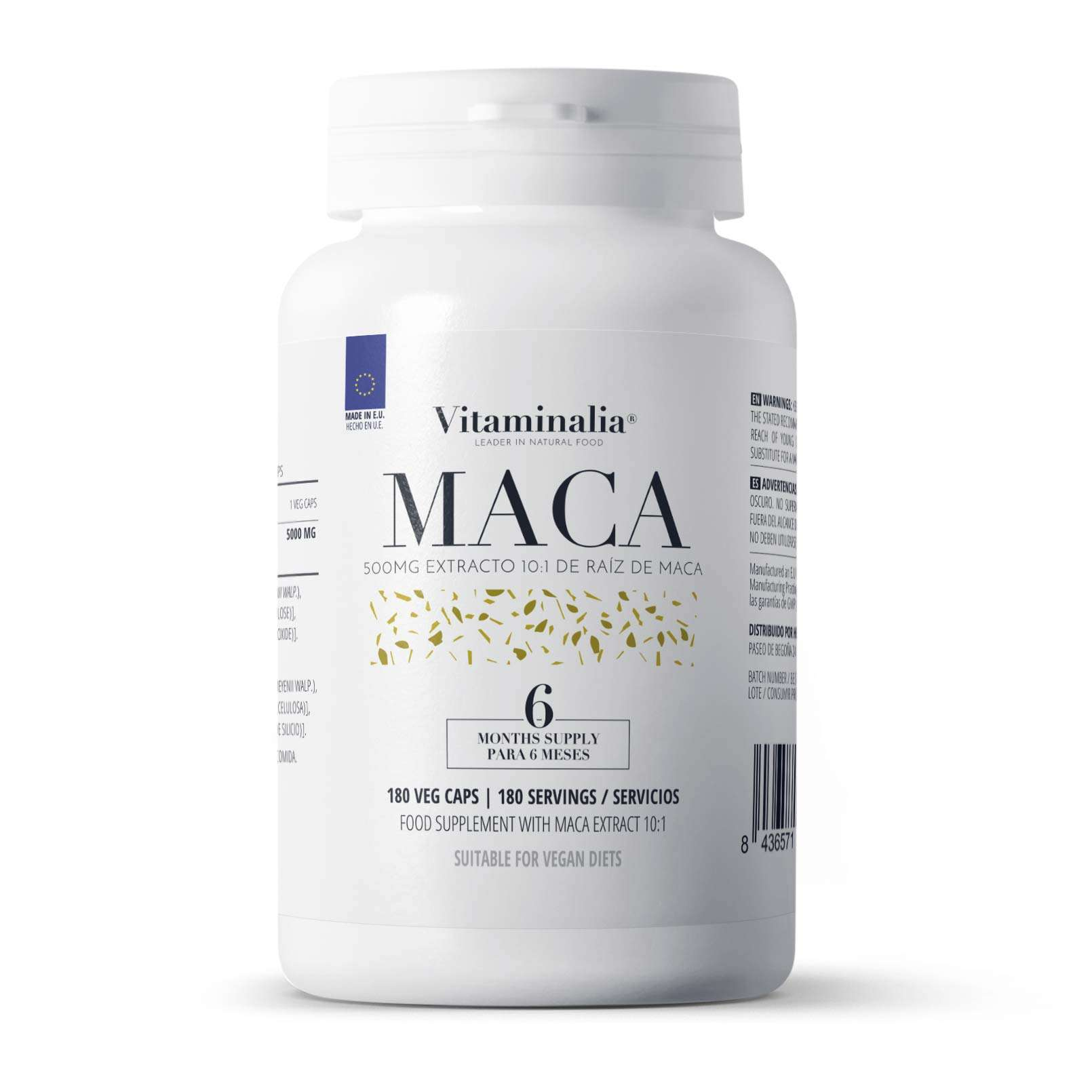 MACA ANDINA EXTRACTO 10:1 500mg