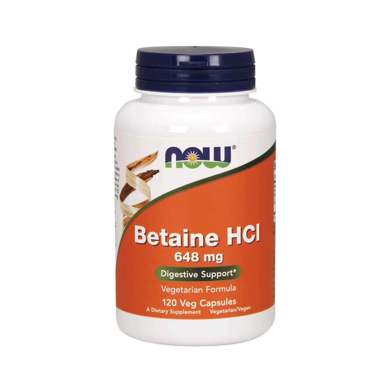 BETAINE HCL 648mg - 120 veg caps