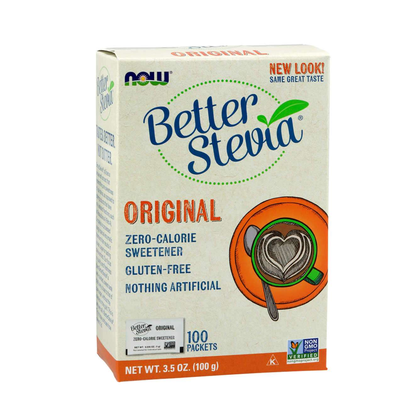BETTER STEVIA SWEETENER ORIGINAL - 100 sobres