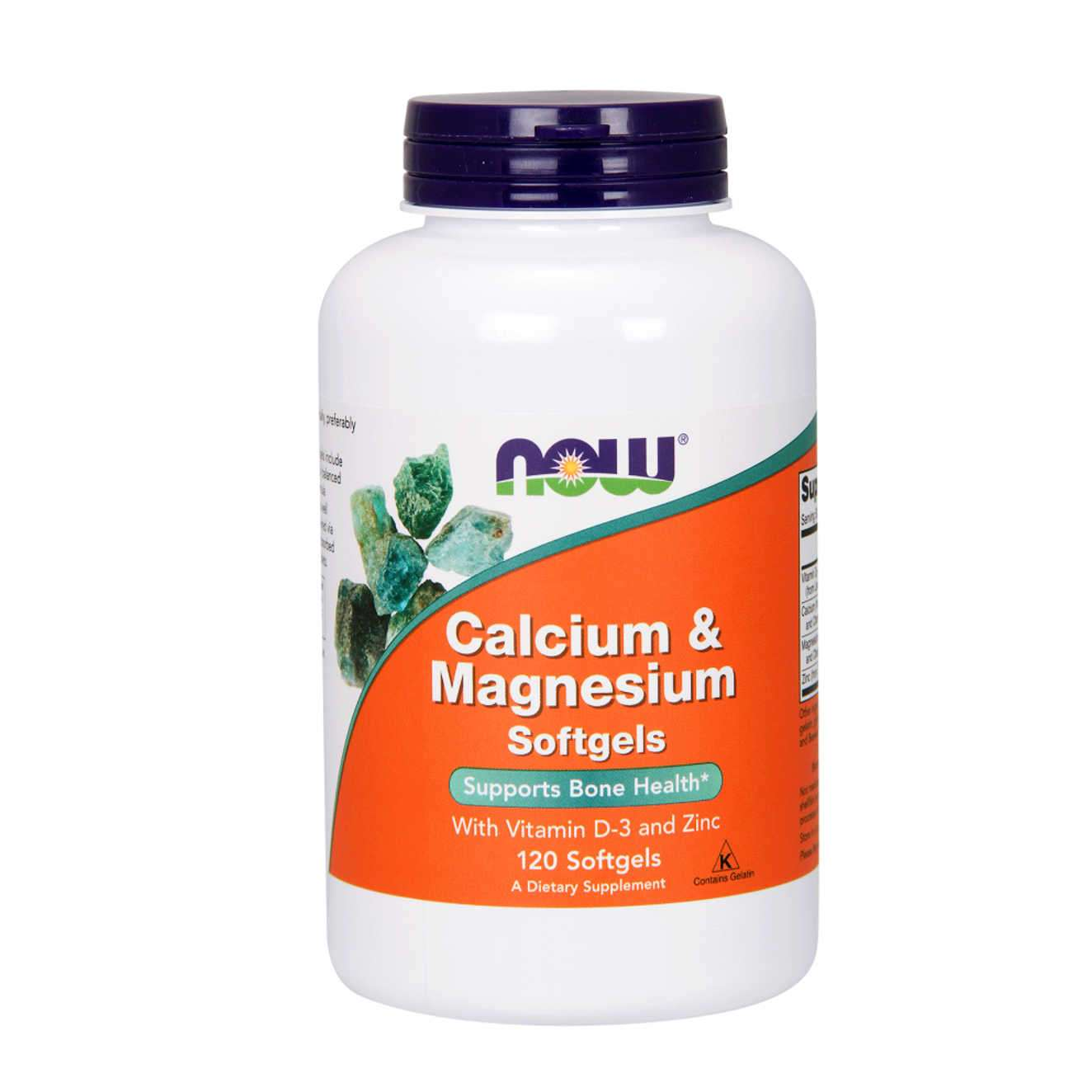 CALCIO + MAGNESIO 333mg/166mg - 120 softgels