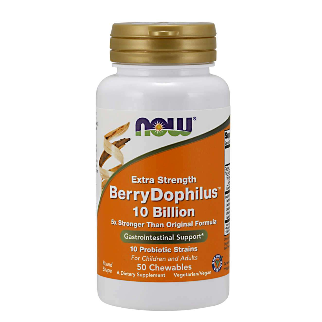EXTRA STRENGHT BERRYDOPHILUS 10 BILLION - 50 tabs masticables