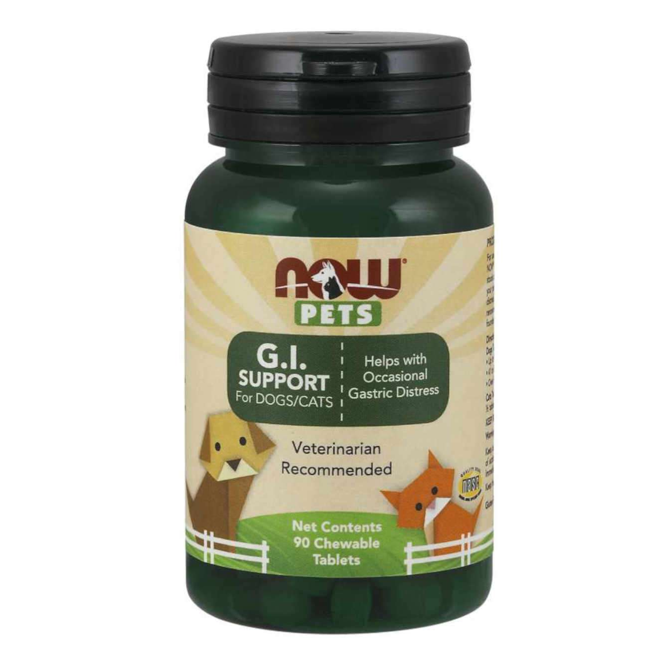 G.I. SUPPORT FOR DOGS/CATS - 90 tabs masticables