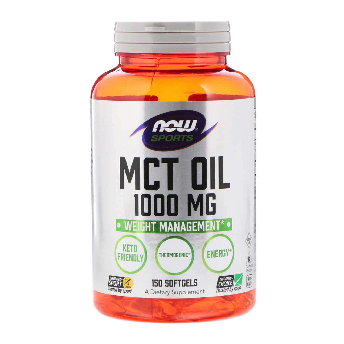 MCT OIL 1000mg - 150 softgels