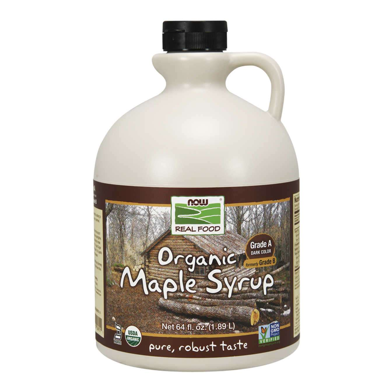 ORGANIC MAPLE SYRUP GRADE A DARK COLOR