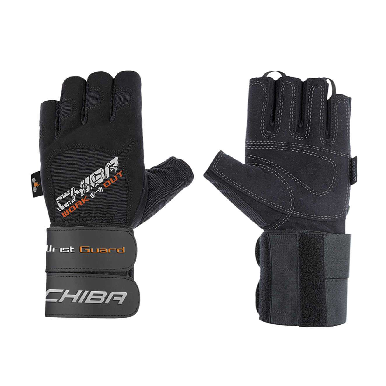 PROFESSIONAL WRISTGUARD II TRAINING GLOVES NEGRO