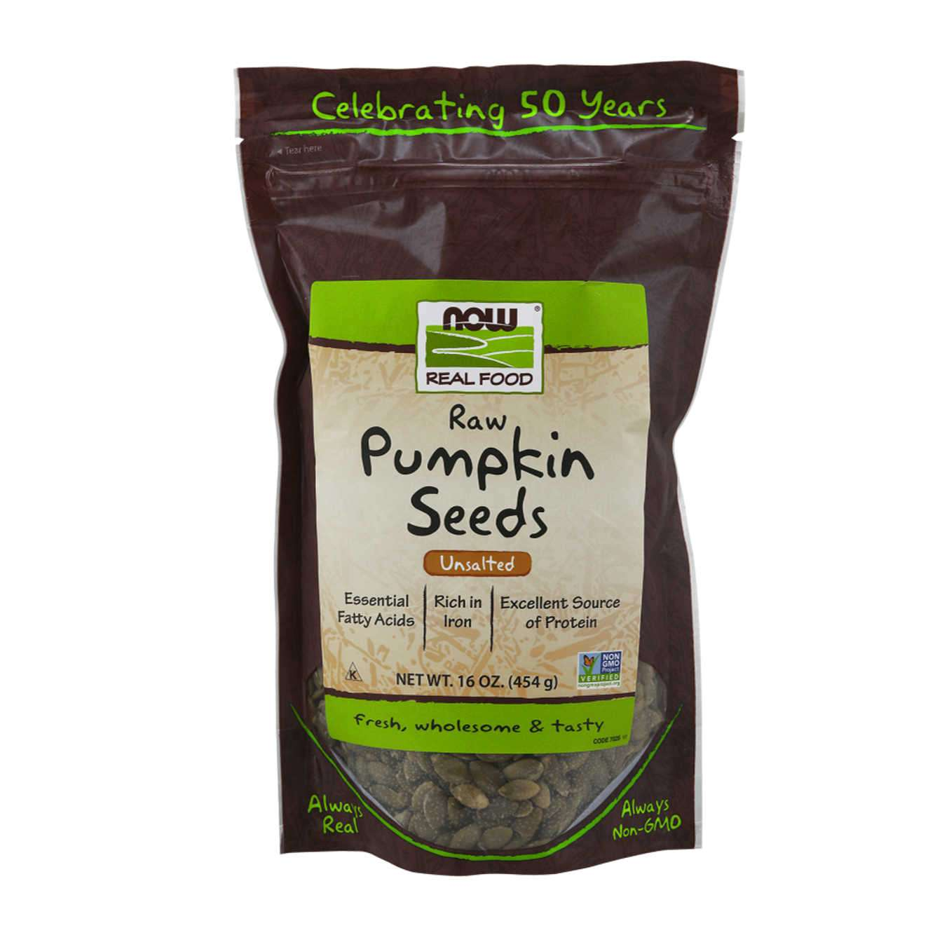 RAW PUMPKIN SEEDS - 454g