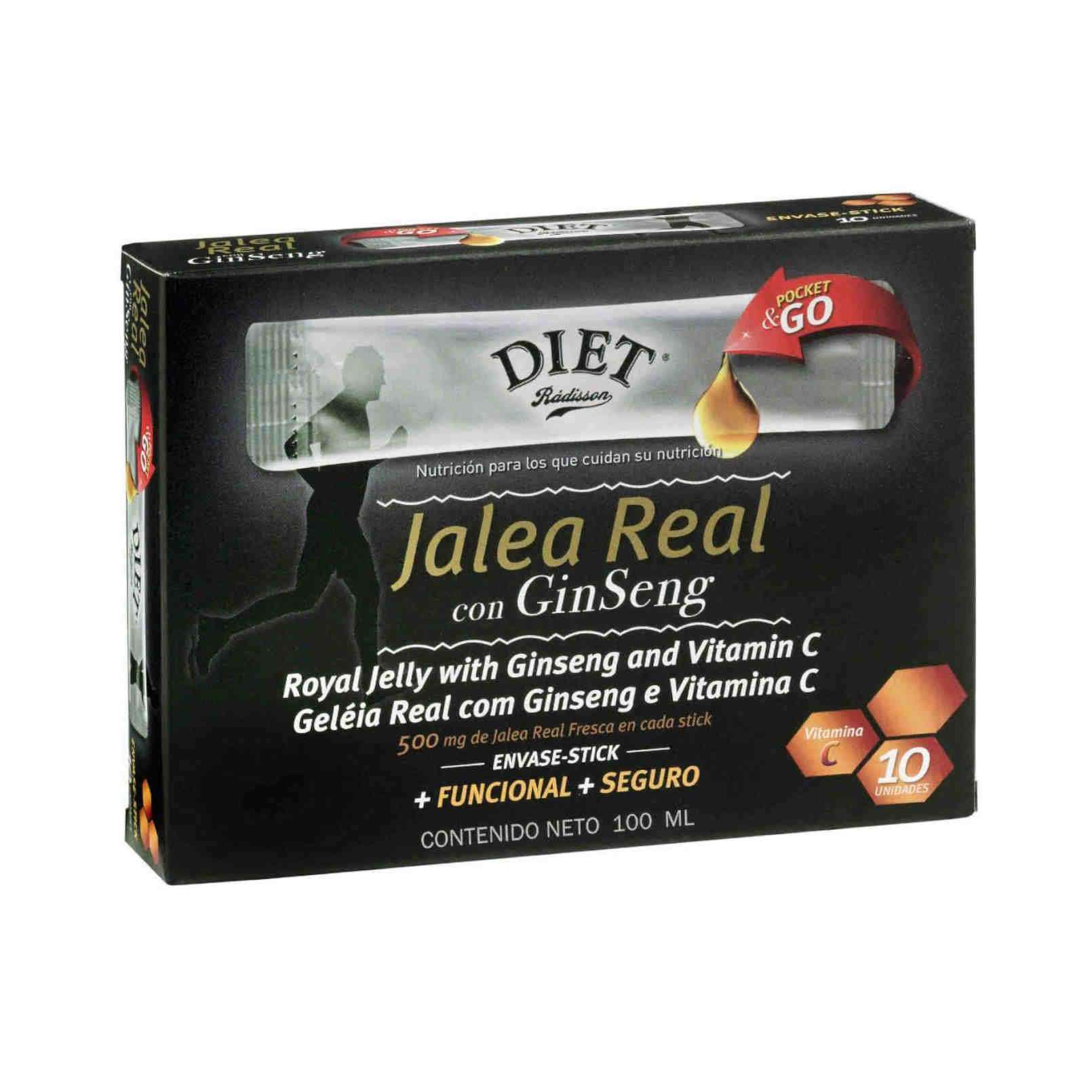 JALEA REAL CON GINSENG - 100ml