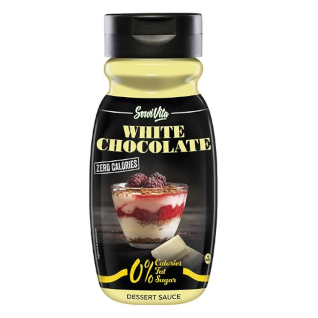 SERVIVITA SIROPE DE CHOCOLATE BLANCO CERO CALORIAS - 320ml