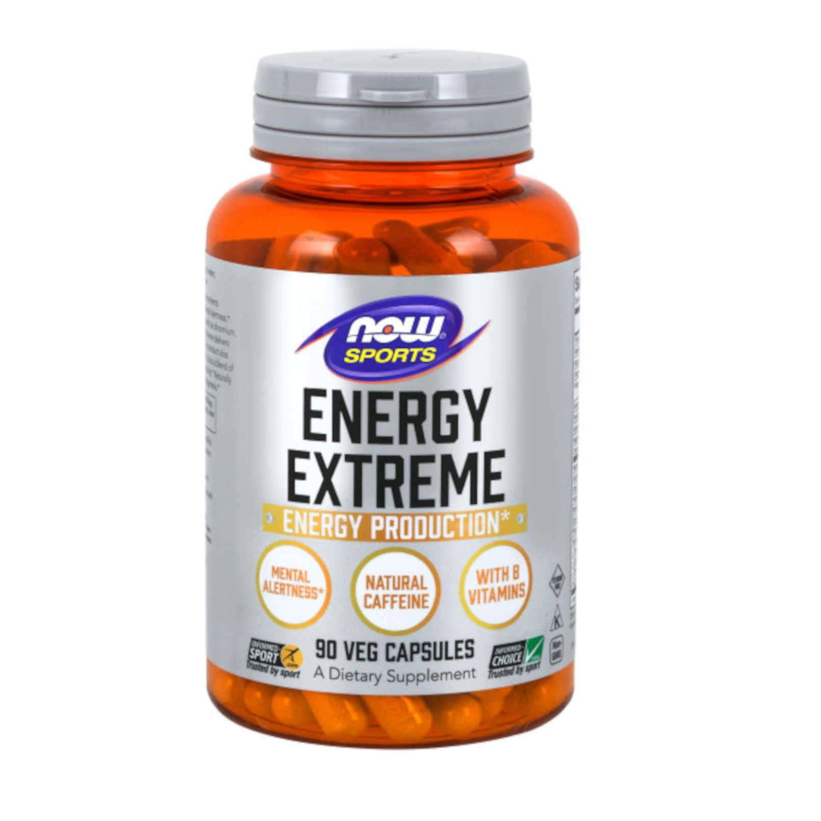 SPORTS ENERGY EXTREME - 90 veg caps