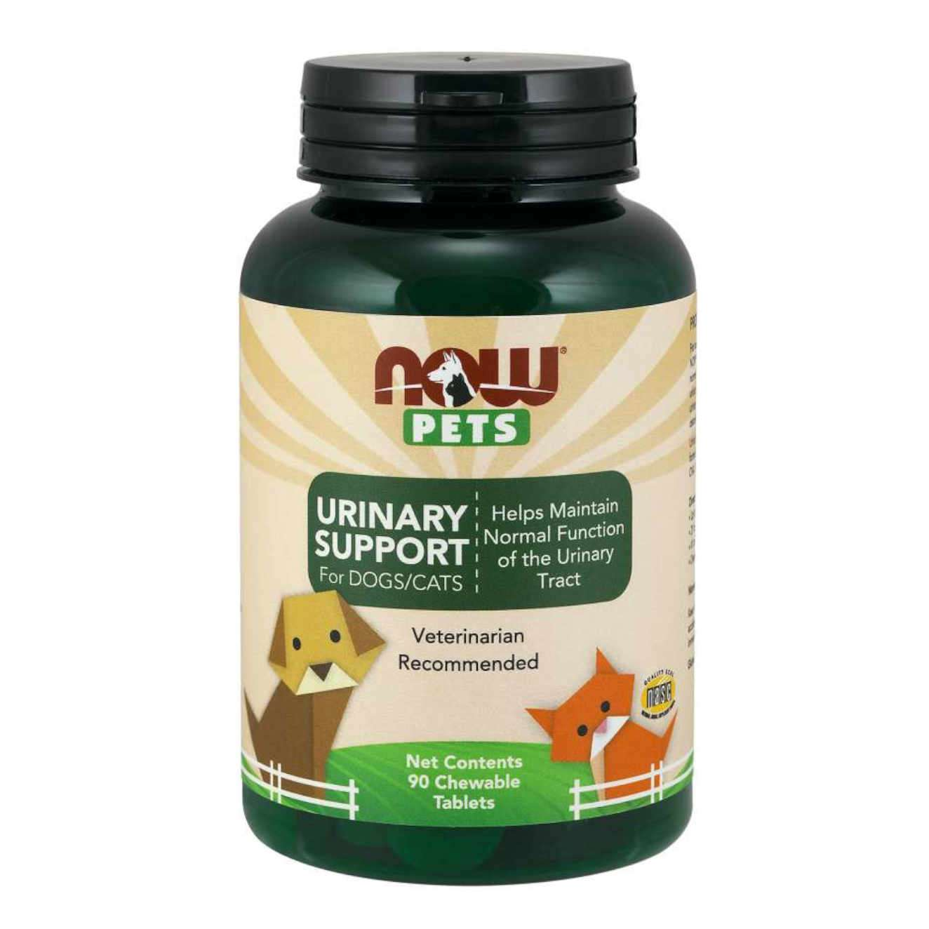 URINARY SUPPORT FOR DOGS/CAT - 90 tabs masticables
