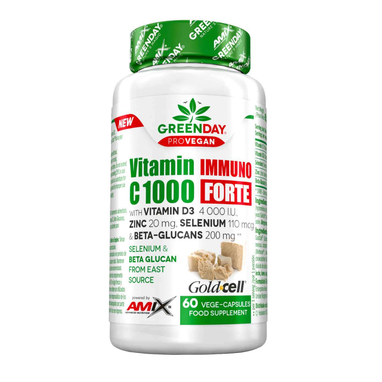 VITAMIN IMMUNO C1000 FORTE - 60 veg caps