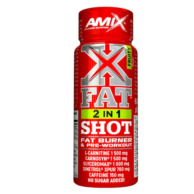 X FAT 2 IN 1 SHOT 60ml FRUTAS
