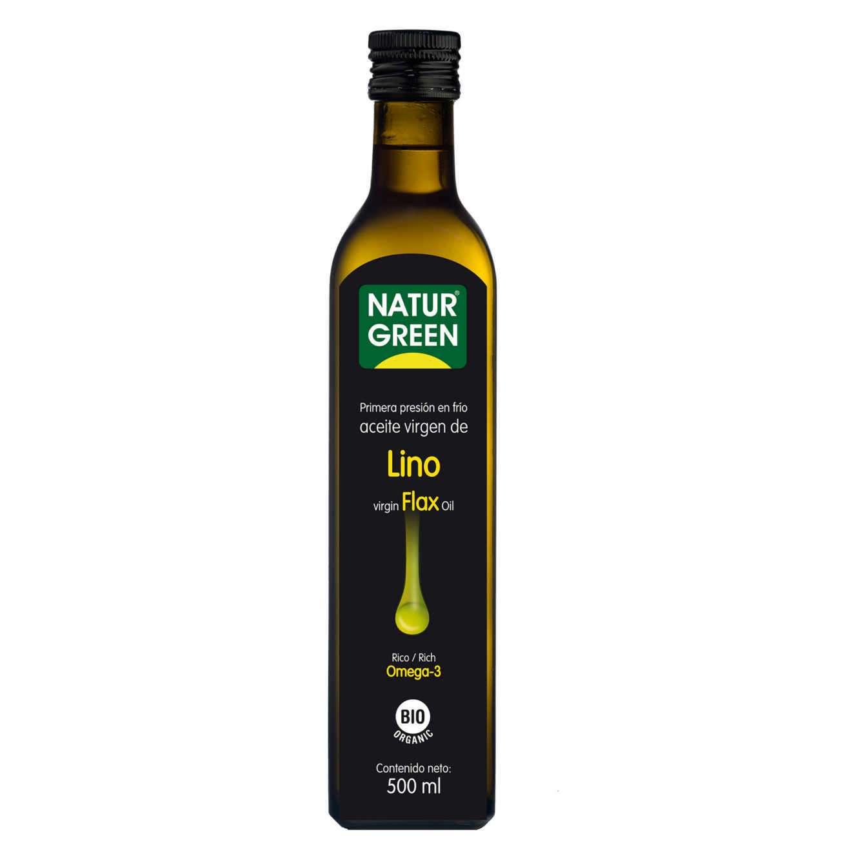 ÓLEO VIRGEM DE LINHO - 500ml