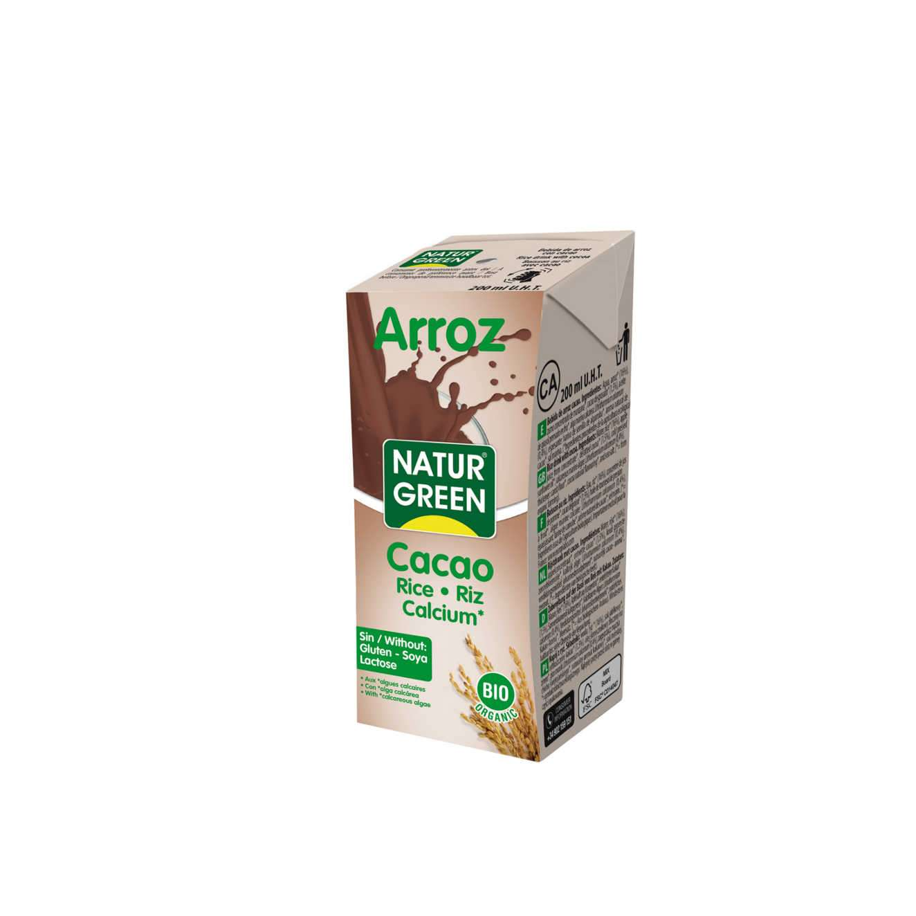 ARROZ CACAU BIO - 200ml