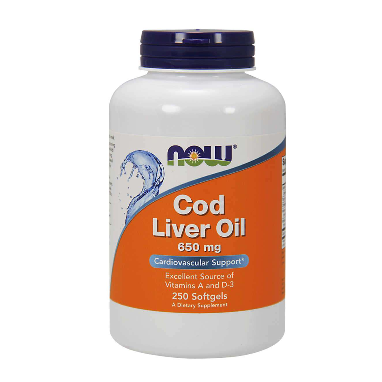 COD LIVER OIL 650mg - 250 softgels