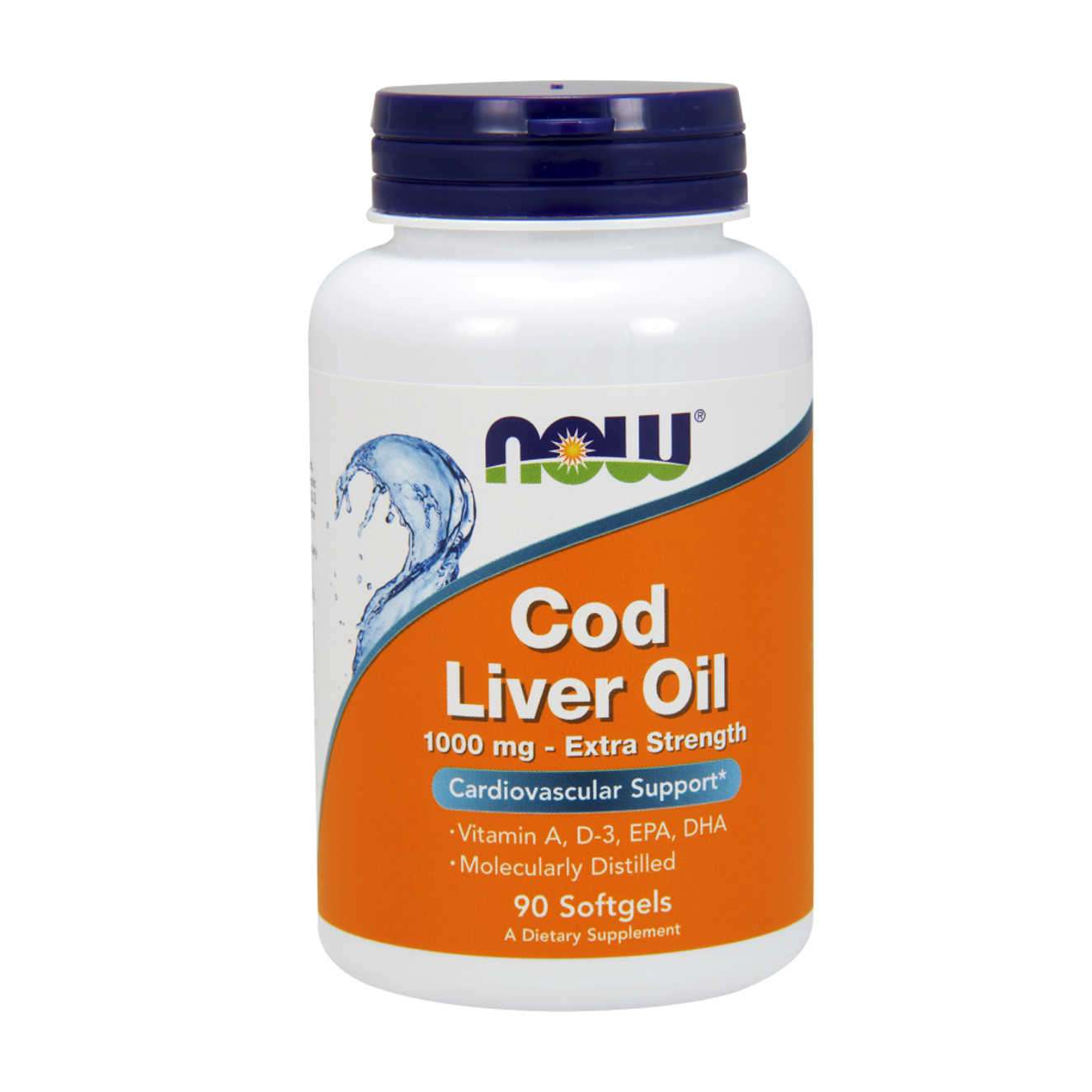 COD LIVER OIL 1000mg - 90 softgels