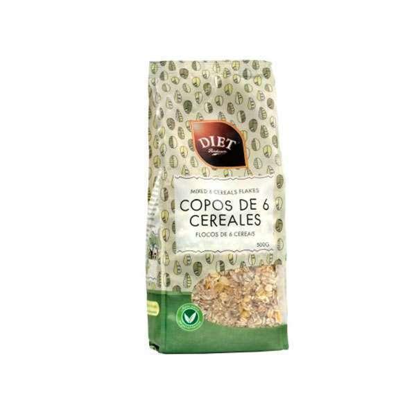 FLOCOS DE 6 CEREAIS 500g