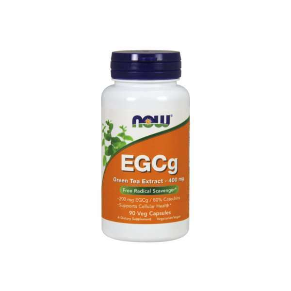 EGCg EXTRATO DE CHÁ VERDE 400mg - 90 veg caps