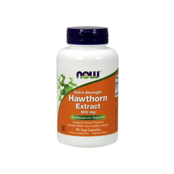 EXTRA STRENGTH HAWTHORN EXTRACT 600mg - 90 vegcaps