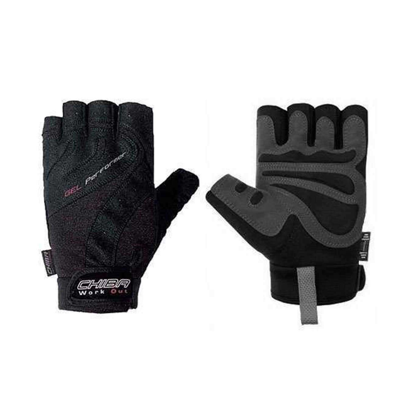 GEL PERFORMER GLOVES PRETO