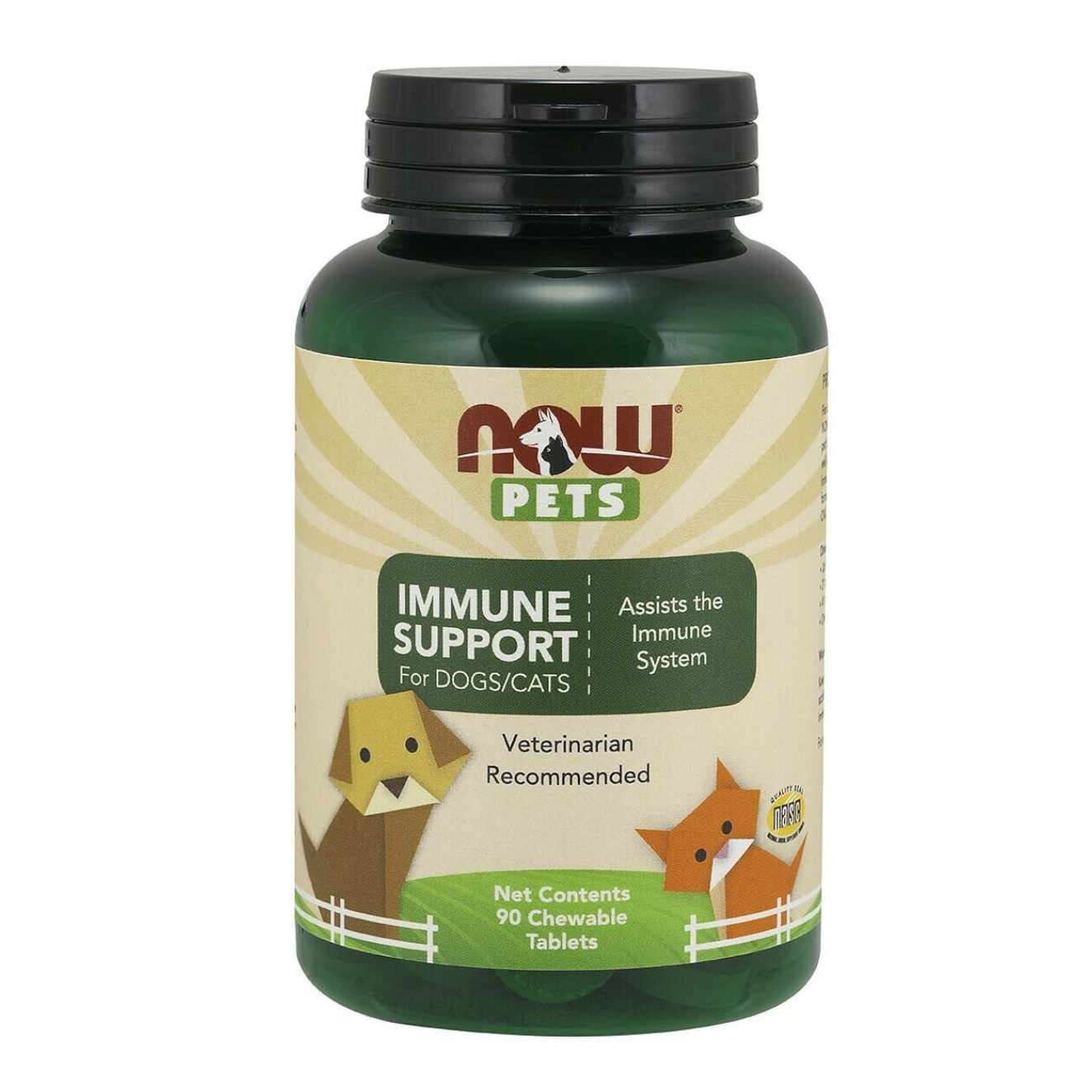 IMMUNE SUPPORT FOR DOGS/CATS - 90 tabs mastigáveis